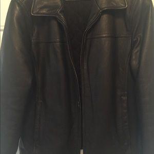 "'❤️HOST PICK ❤️"" Men's Calvin Klein Leather Jacket"